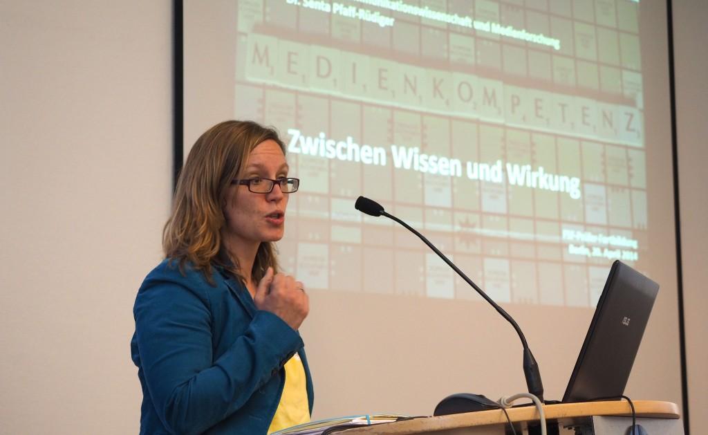 Dr. Senta Pfaff-Rüdiger, Prüferfortbildung 2015 FSF © FSF