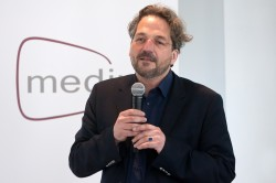 Laudator Prof. Dr. Roland Rosenstock, medius-Preisverleihung 2015 © FSF