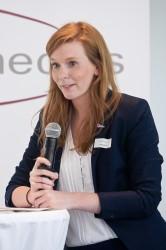 Laudatorin Luise Schmidt (DKHW), medius-Preisverleihung 2015 © FSF