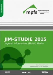 JIM-Studie 2015 des Medienpädagogischen Forschungsverbundes Südwest © mpfs