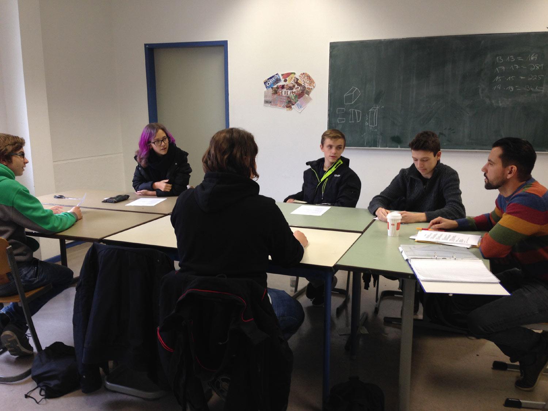 Streitschlichter der Bettina-von-Arnim-Schule © Polina Roggendorf