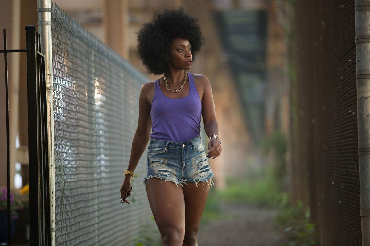 Chi-Raq; Land: USA 2016; Regie: Spike Lee; Bildbeschreibung: Teyonah Parris; BERLINALE Sektion: Wettbewerb; Datei: 201614640_2.jpg © Parrish Lewis