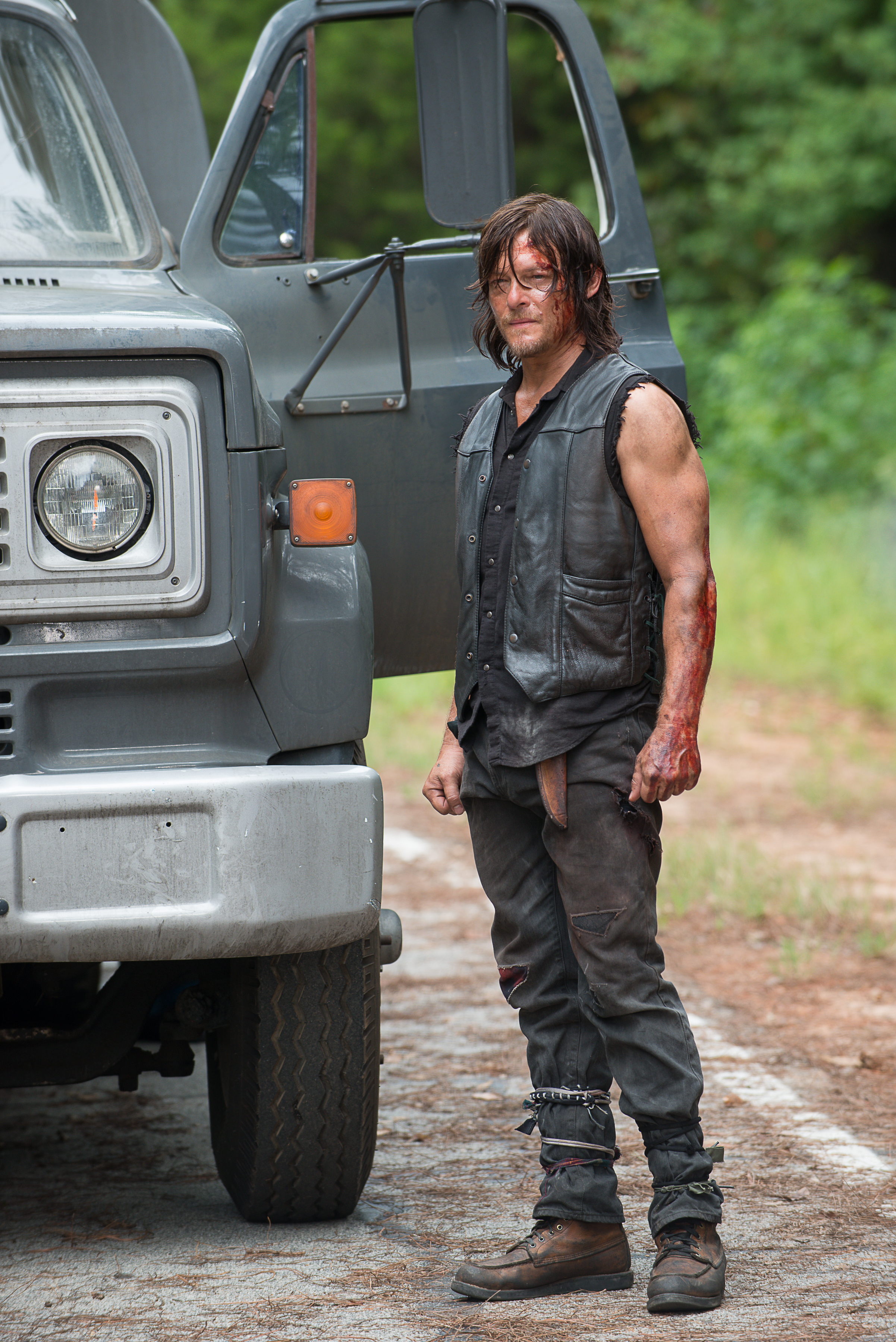 Norman Reedus als Daryl Dixon - The Walking Dead, Season 6, Episode 9 © Gene Page/AMC