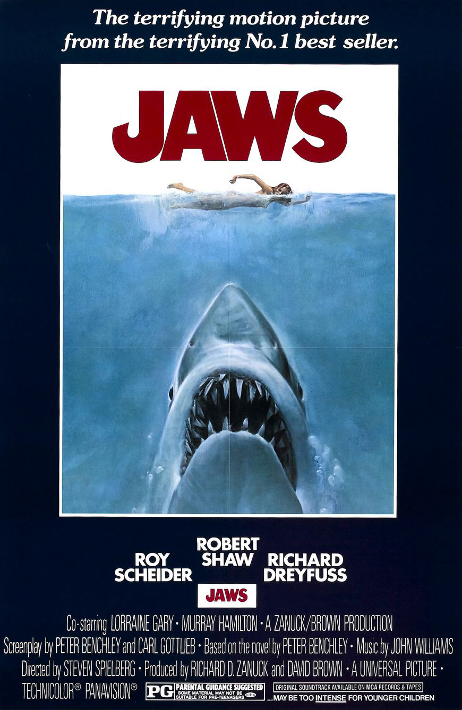 JAWS, 1975 © Universal