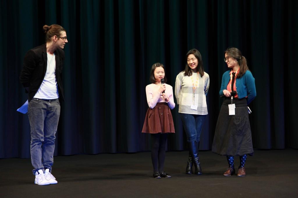 Filmvorführung in Anwesenheit der Hauptdarstellerinnen sowie der Regisseurin © FSF