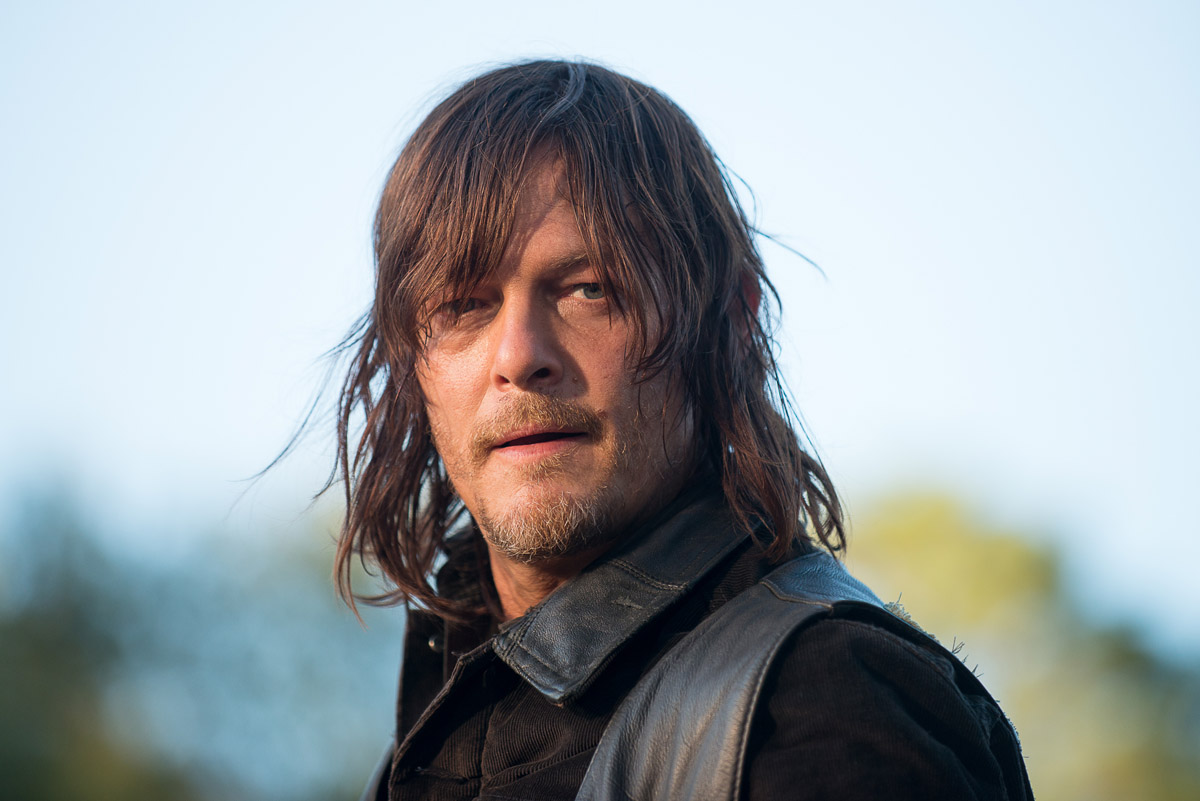 Norman Reedus als Daryl Dixon, The Walking Dead, Season 6, Episode 14 © Gene Page/AMC