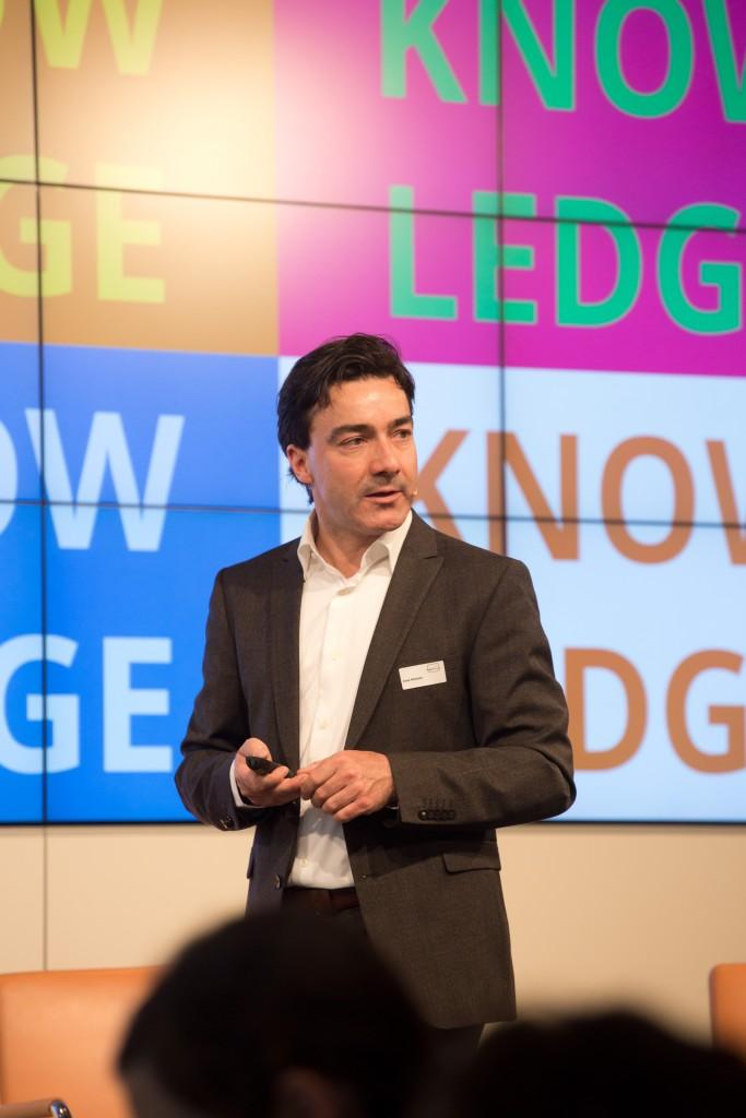 Jens Redmer, Principal, New Products bei Google Deutschland, zur Frage: Wie intelligent sind die Maschinen? medienimpuls 2016 © sh/fsf