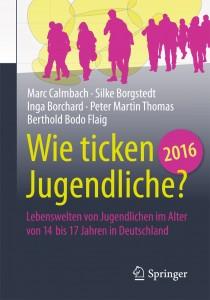 Buchcover Sinus-Jugendstudie 2016 © sinus