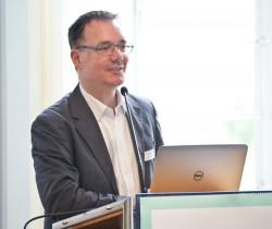 Dr. Jan-Hinrik Schmidt (wissenschaftlicher Referent für digitale interaktive Medien und politische Kommunikation am Hans-Bredow-Institut für Medienforschung an der Universität Hamburg), Sommerforum Medienkompetenz 2016 © sh/fsf