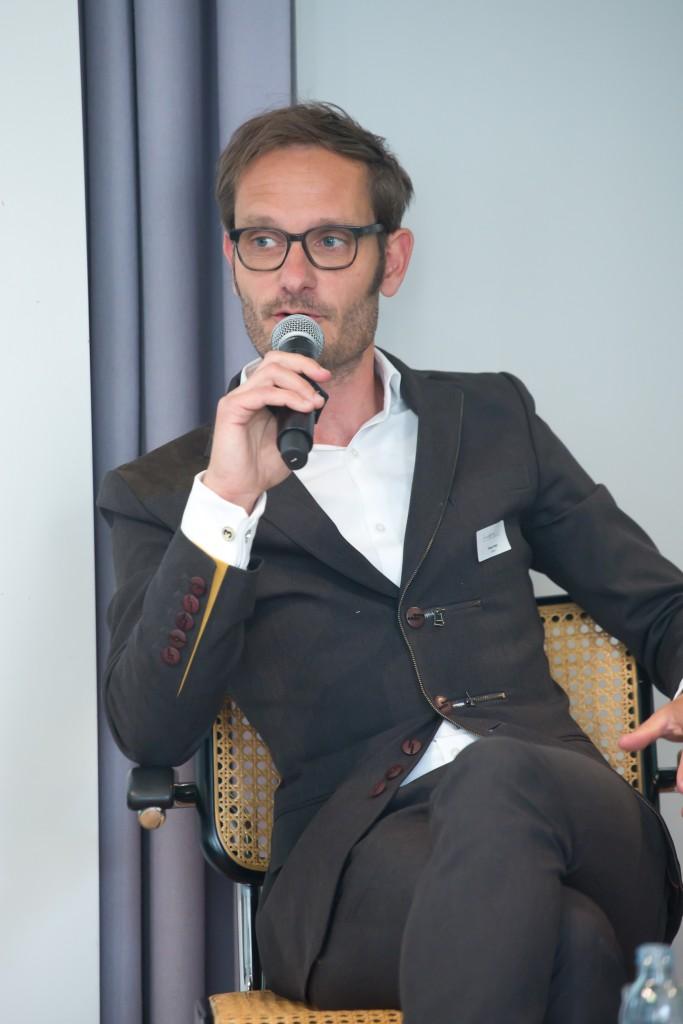 Tilman Aretz ist Chefredakteur von n-tv.de, Sommerforum Medienkompetenz 2016 © sh/fsf
