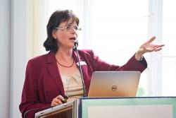 Dr. Dagmar Unz (Professorin für Kommunikationswissenschaften an der Hochschule für Angewandte Wissenschaften Würzburg-Schweinfurt, Sommerforum Medienkompetenz 2016 © sh/fsf