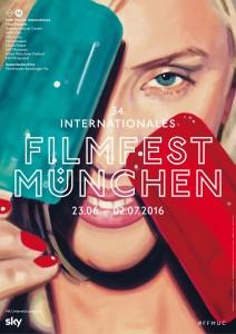Filmfest München 2016, Plakat © courtesy of Filmfest München