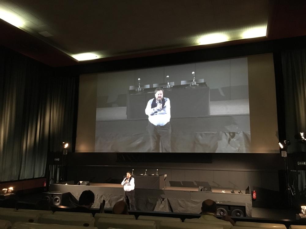 Olaf Möller: Einführung zu den Filmen der Retrospektive; Courtesy: Festival del film Locarno 2016 © Sonja Hartl