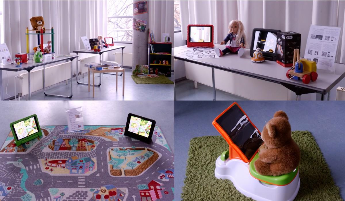 Einblicke in verschiedene Ecken digitaler Kinderzimmer, GMK-Forum 2016 © Bernward Hoffmann
