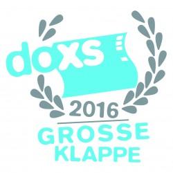 Logo GROSSE KLAPPE 2016 © doxs!