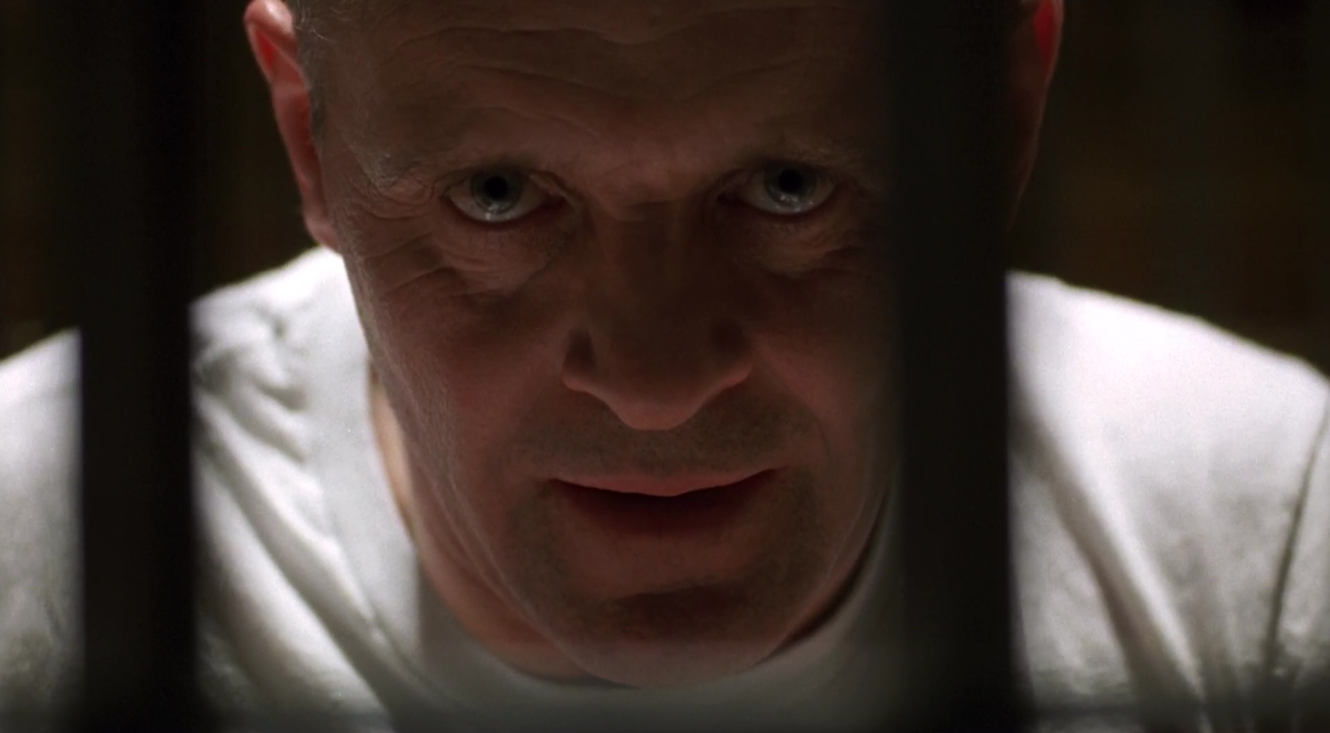 Anthony Hopkins als Dr. Hannibal Lecter in The Silence of the Lambs (OT) – dt: Das Schweigen der Lämmer (1991) © Orion Pictures/20th Century Fox Home Entertainment