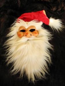 Santa-Claus-Maske, Foto: 1112869, pixabay.com