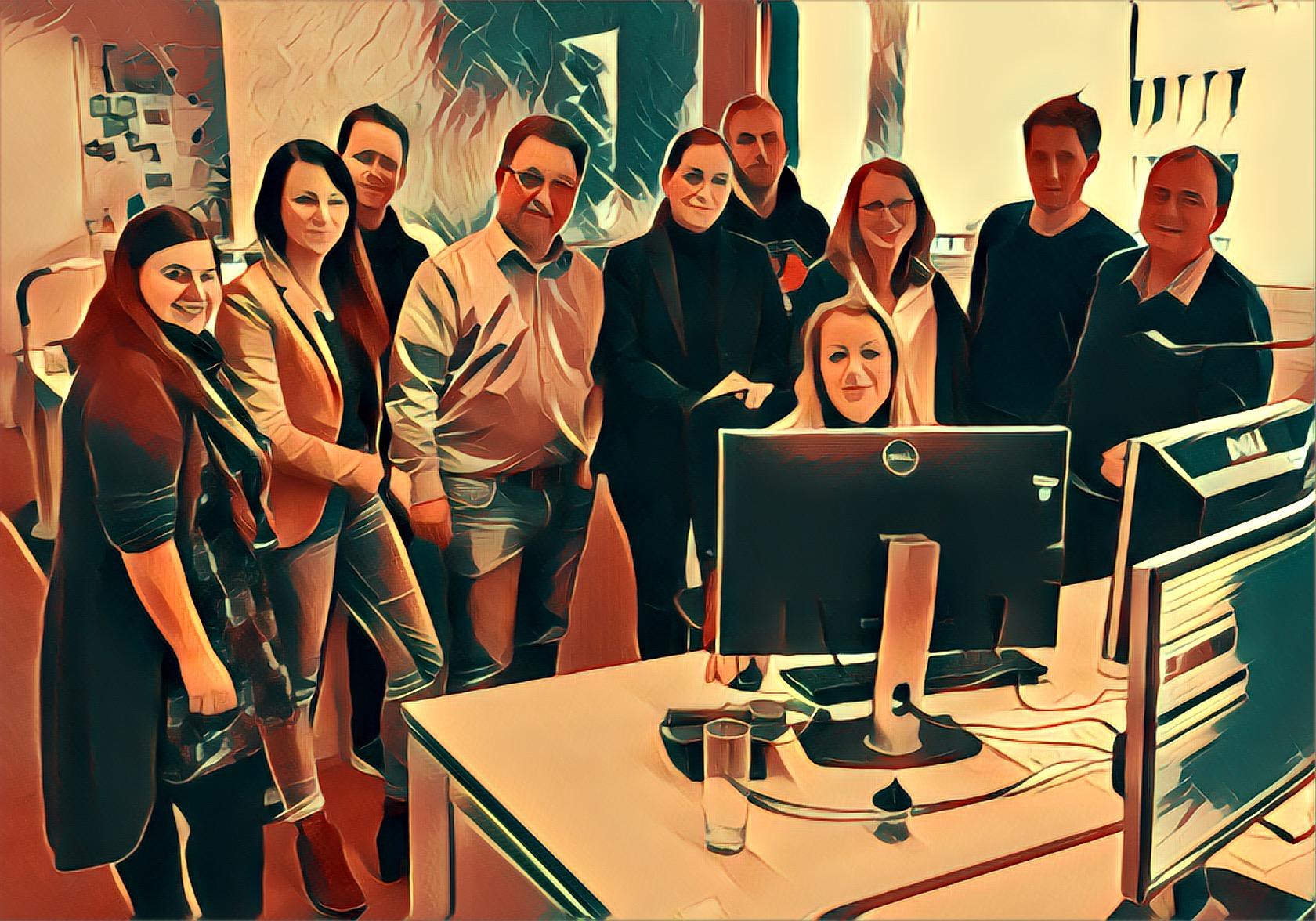 Redakteure und Jugendschutzbeauftragte der ProSiebenSat.1-Group © ProSiebenSat.1