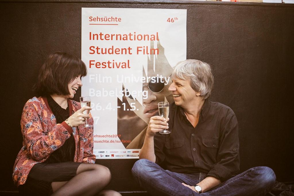 46th Sehsüchte International Student Film Festival: Eröffnung am 26.04.2017 mit Andreas Dresen © Jonas Friedrich