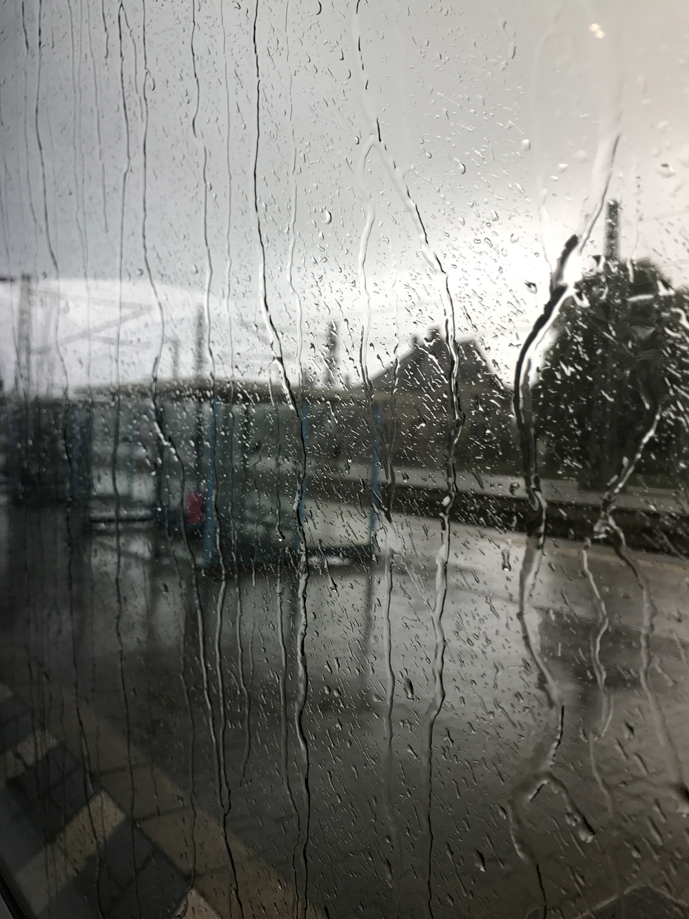 Auf dem Weg von Berlin nach Hamburg - gestrandet in Ludwigslust © Sonja Hartl