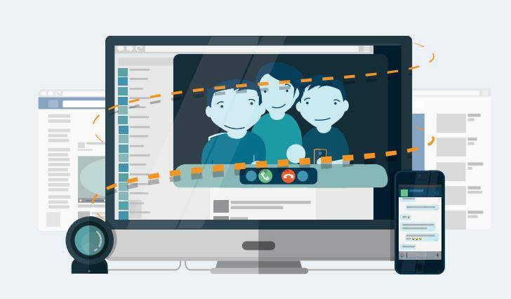 Kommunikation im Netz © Medien in die Schule