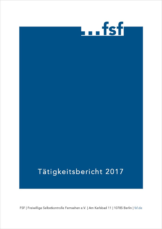 Tätigkeitsbericht FSF 2017