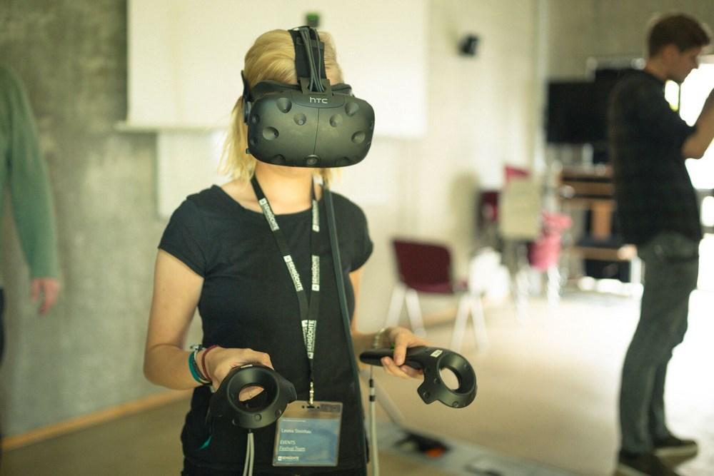 Sehsüchte 2018: VR-Lab © Frieder Unselt