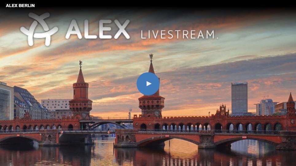 Weiterleitung zum Live-Stream, erfolgt über das Anklicken des Bildes